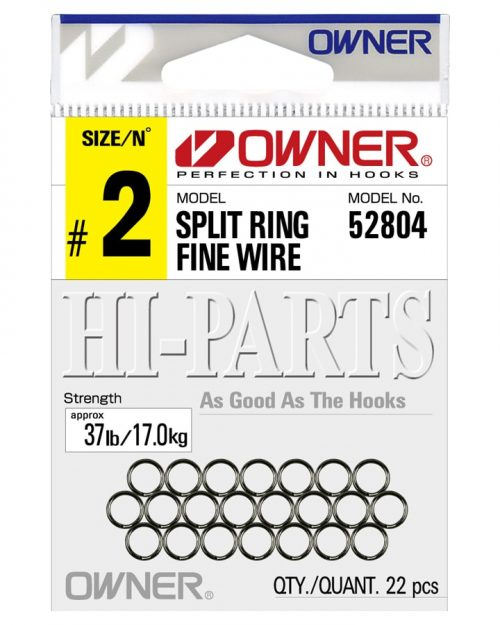 P-04 Fine Wire Split Rings Pack