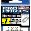 P-12 Hyper Wire Split Rings Pack