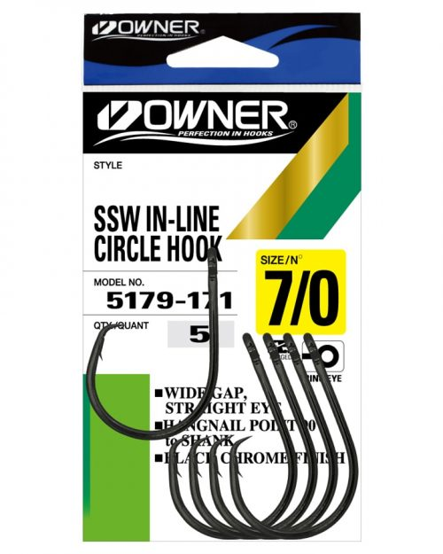 SSW Inline Circle Hooks Pack